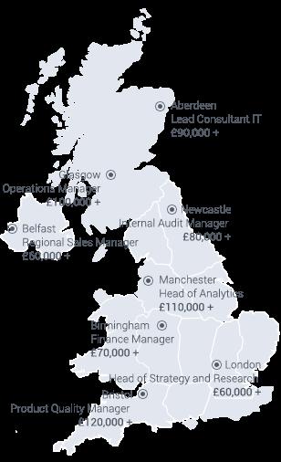 Management Jobs: Executive Vacancies Starting at £50K